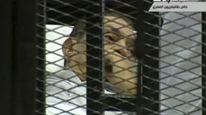 Husni Mubarak in Court