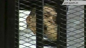 Husni Mubarak in Court